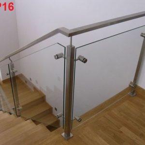 cầu thang kính cường lực hp 12